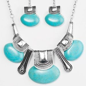 The Rhonda: Zi Collection Necklace & Earring Set